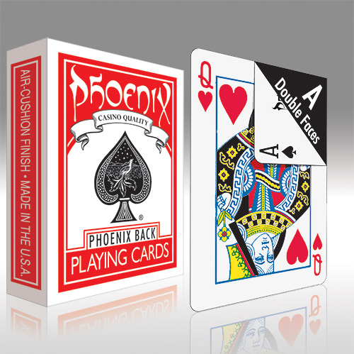 1-way Force One Way Forcing Card Deck Ace Of Spades Red Bicycle Magic Trick